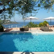 Villa With 4 Bedrooms in Saint-raphaël, With Wonderful sea View, Private Pool, Enclosed Garden - 2 km From the Beach