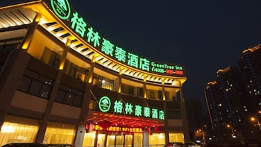 GreenTree Inn TaiZhou JingJiang ZhongZhou Road Sunshine International Business Hotel