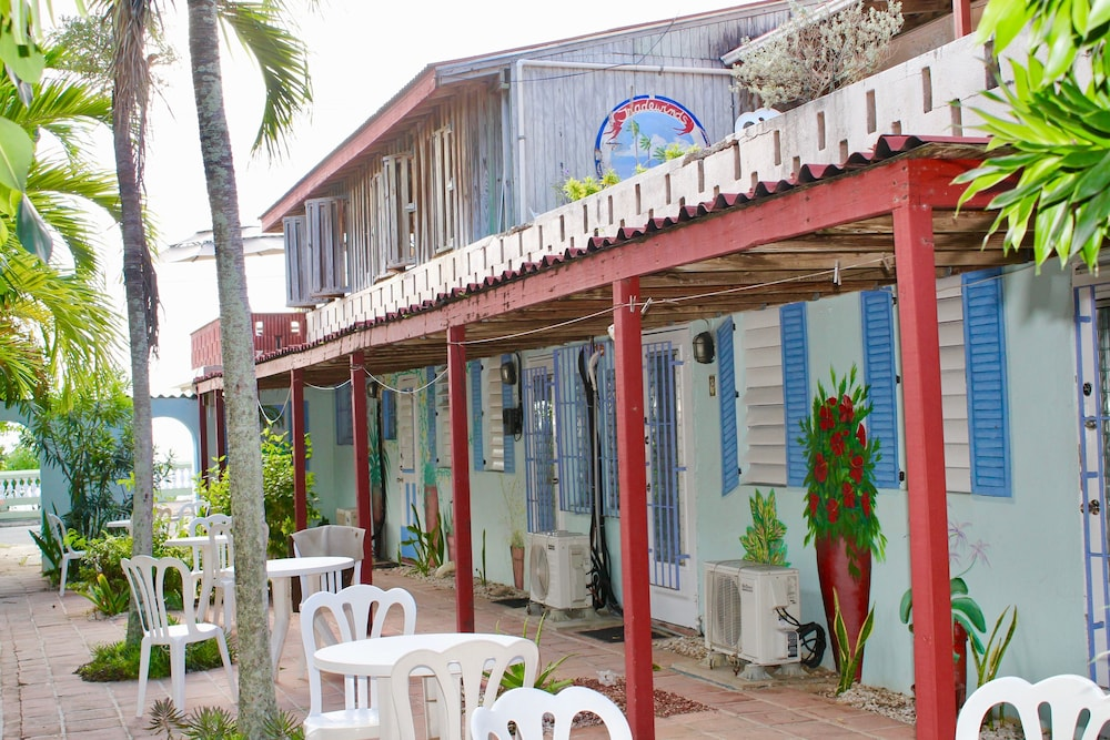 Exterior detail, Trade Winds Guesthouse