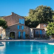Holiday Home in Ancient Masonry at Foot of Mont Ventoux, big Pool - La Treille
