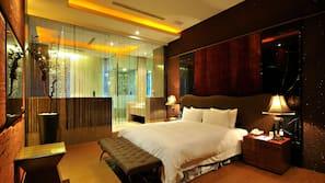 高級寢具、羽絨被、家具佈置各有特色、免費有線上網