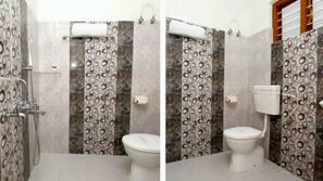 Shower, rainfall showerhead