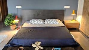 1 bedroom, premium bedding, individually decorated, desk