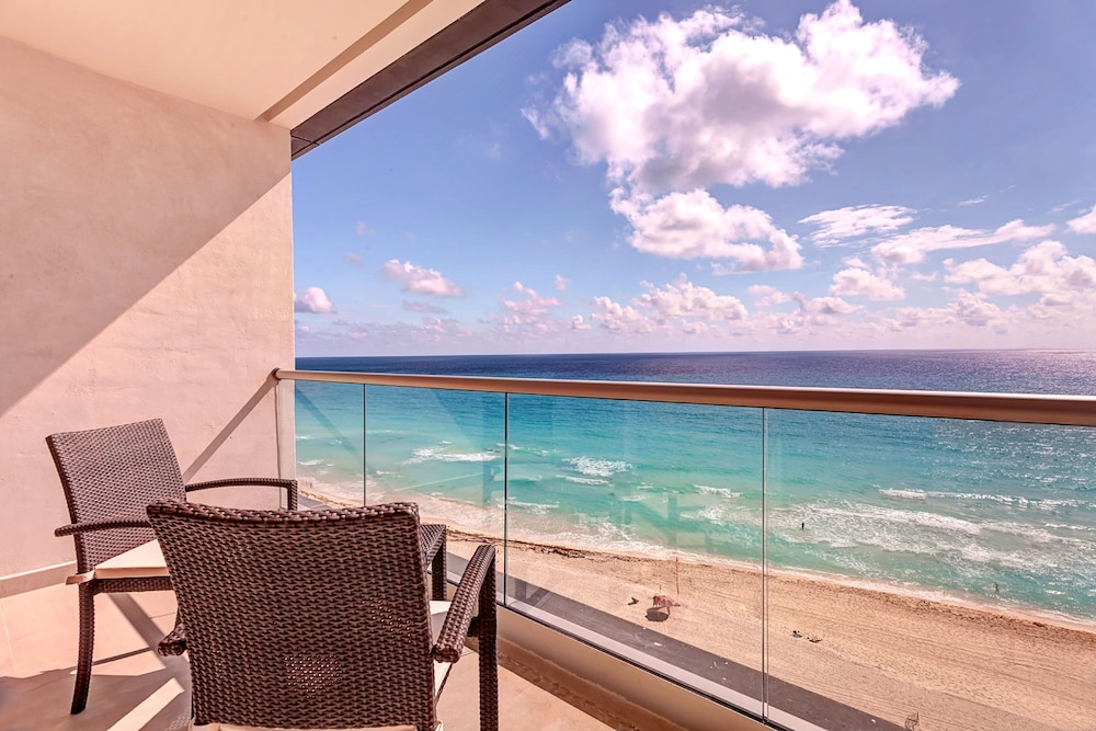 View from Room, Royalton Chic Suites Cancun