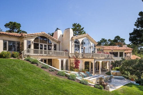 Luxury Estate In Walking Distance to the Lodge at Pebble; Ocean Views