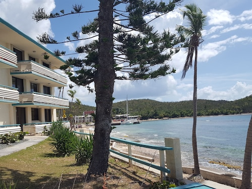 St.thomas, Usvi, Oceanfront Studio at Bolongo Bay, Watergate Villas East