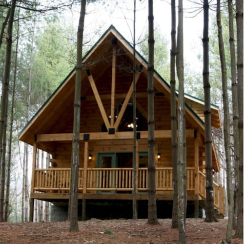 Beautiful 2 Bedroom 2 Bath Log Cabin for Rent