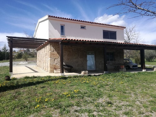 Villa With 3 Bedrooms in Nossa Sra. do Carmo, With Wonderful Mountain View, Private Pool, Enclosed Garden