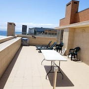 Apartment With 2 Bedrooms in Vila do Conde, With Wonderful sea View, Furnished Balcony and Wifi - 200 m From the Beach