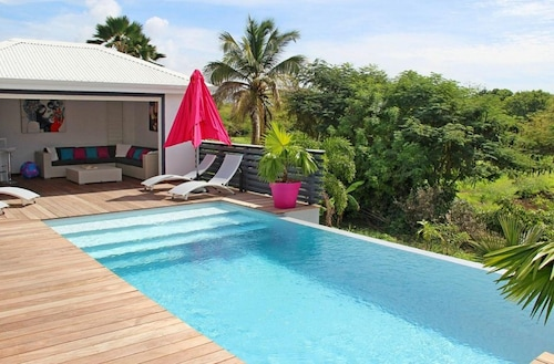 Villa With 3 Bedrooms in Saint Francois, With Private Pool and Wifi - 2 km From the Beach