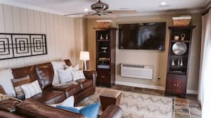 TV with cable/satellite channels
