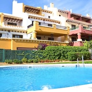 Apartment With 2 Bedrooms in Ayamonte, With Pool Access, Enclosed Garden and Wifi - 4 km From the Beach