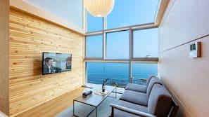 케이블 채널 시청이 가능한 40인치 평면 TV, 바닥 난방/온돌