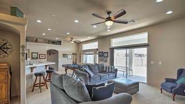 Cozy Bullhead City Home w/ Patio & Mountain Views!