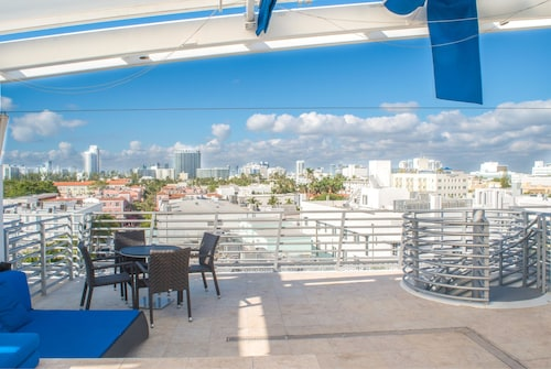 Penthouse De Soleil South Beach - on Ocean Drive Miami Beach Studio Bedroom 1 Bathroom Hotel Room