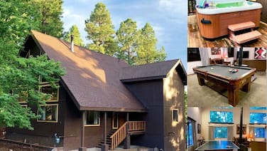 3bed+den Luxury Custom Nakai Chalet, AC, hot tub open Oct26-29,Nov 2-6,9-13