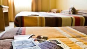 Caja fuerte, cortinas opacas, cunas o camas infantiles gratuitas