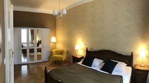 1 bedroom, hypo-allergenic bedding, down duvet, minibar