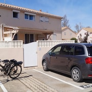 House With 2 Bedrooms in Portiragnes, With Pool Access and Furnished Garden - 200 m From the Beach