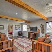 Spacious Mancos River Home W/deck on Creek & Pond!