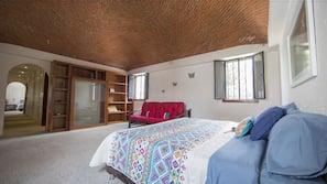 5 dormitorios, ropa de cama de alta calidad, edredones de plumas