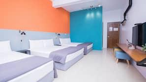設計每間自成一格、家具佈置各有特色、隔音、摺床/加床 (收費)