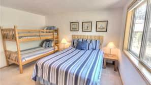 3 間臥室、免費 Wi-Fi、床單