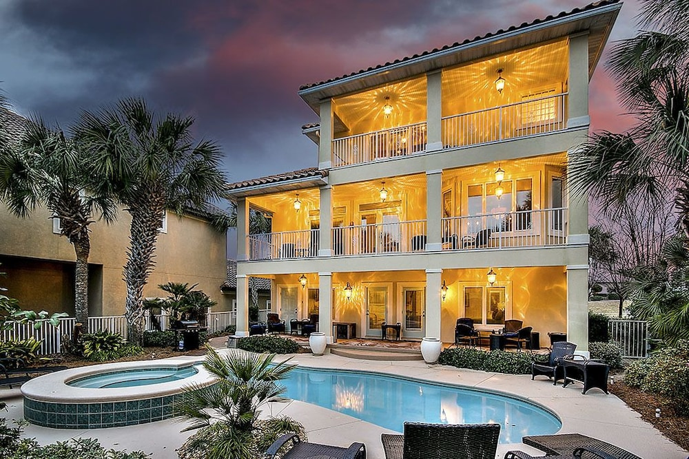 Incredible Bellissimo 4 Bedrooms 4 Bathrooms Home In Fort Walton Beach Download Free Architecture Designs Embacsunscenecom