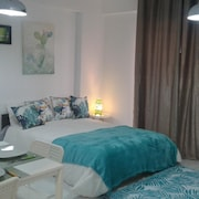 Apartment With one Bedroom in Quarteira, With Pool Access, Furnished Garden and Wifi - 3 km From the Beach