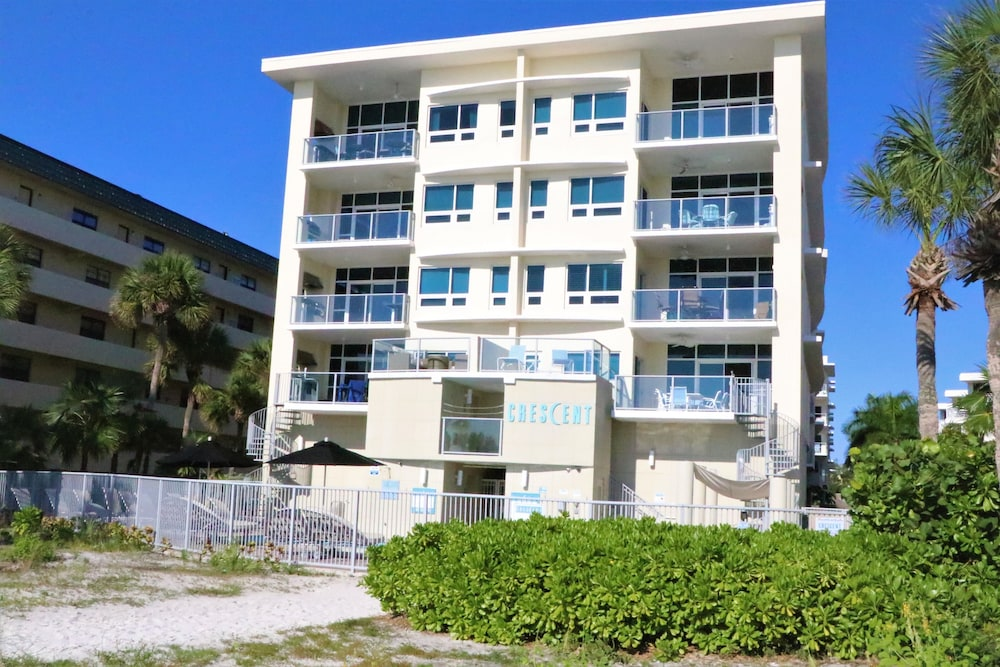 Exterior, Crescent Siesta Key - 503 West-luxury On The Beach! 3 Bedroom Apts