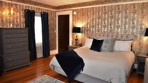 4 bedrooms, premium bedding, in-room safe, individually decorated