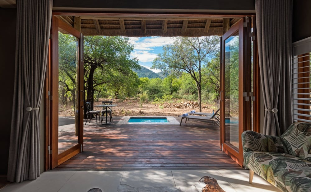 Garden View, Lush Private Lodge