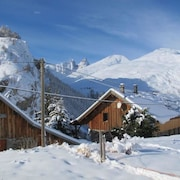 House With 5 Bedrooms in Valloire, With Wonderful Mountain View, Furnished Garden and Wifi - 3 km From the Slopes