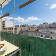 Apartment With Balcony & A/C - Chave Boulevard