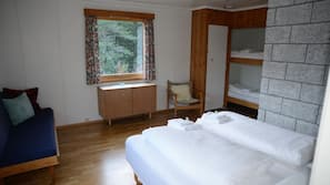 Iron/ironing board, free WiFi, bed sheets