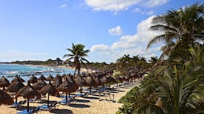 Private beach nearby, scuba diving, windsurfing, beach volleyball