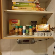 Gemeinsam genutzte Küchenausstat
