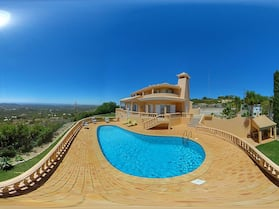 House With 4 Bedrooms in Loulé, With Wonderful sea View, Private Pool, Enclosed Garden - 12 km From the Beach