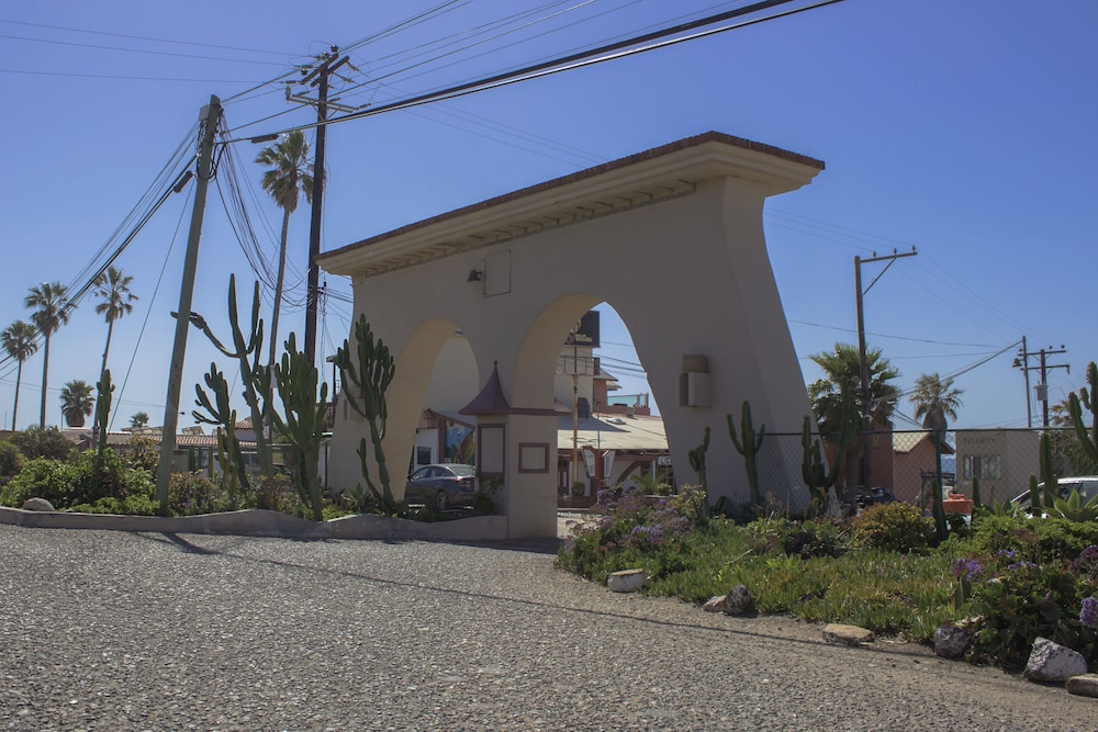 Property Entrance, Rosarito 5 Bedroom Beach House