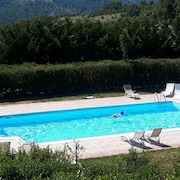 Apartment With 2 Bedrooms in Trivigno, With Wonderful Mountain View, Pool Access, Furnished Terrace