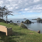 New: Crescent City Oceanfront House -- Near the Redwoods!