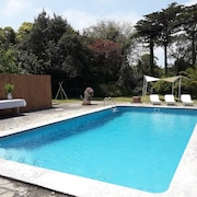 Apartment With 4 Bedrooms in Sintra, With Wonderful Mountain View, Pool Access, Enclosed Garden - 5 km From the Beach
