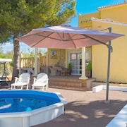 Villa With 3 Bedrooms in Dénia, With Wonderful sea View, Private Pool, Enclosed Garden - 100 m From the Beach