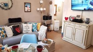 1 dormitorio, ropa de cama de alta calidad, escritorio y wifi gratis