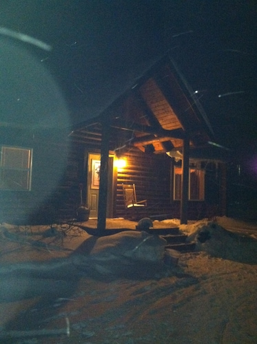 The Great U.p. Experience. Log Cabin With Easy Access To Hiawatha Trails