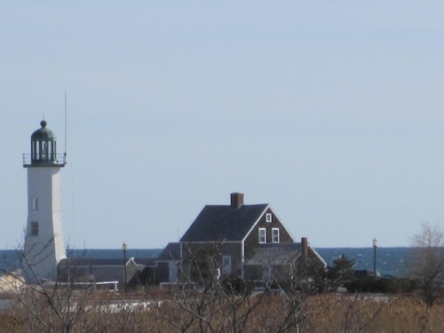 Lighthouse Point in Scituate Harbor