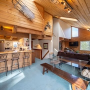 The Ned 'stead: Sunny Spacious Mountain Home With Sauna, fab Views, dog Friendly