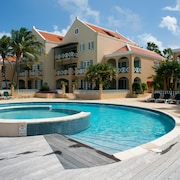 Port Bonaire B101 1 Bdrm Apartment With Large Terrace and Great View Dive School