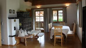 Flachbildfernseher, Kamin