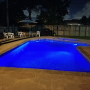 Great Home Private Pool Grill Free Wifi Pets Allowed Jacuzzi Close to the Beach